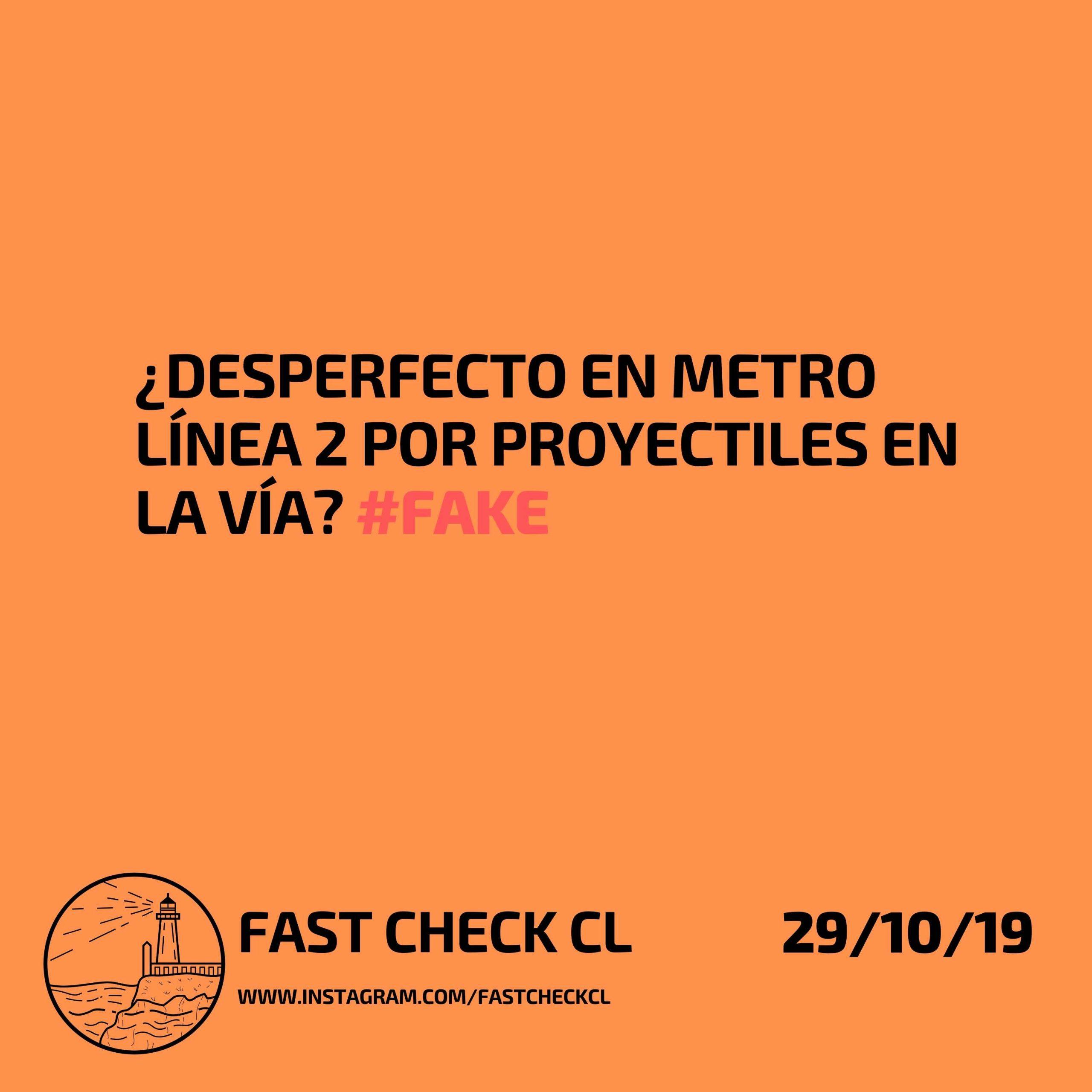 ¿Desperfecto en metro línea 2 por proyectiles en la vía? #Fake