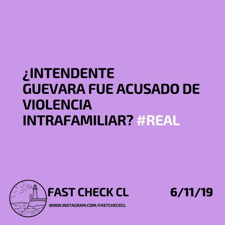 Intendente Guevara fue acusado de Violencia Intrafamiliar: #Real