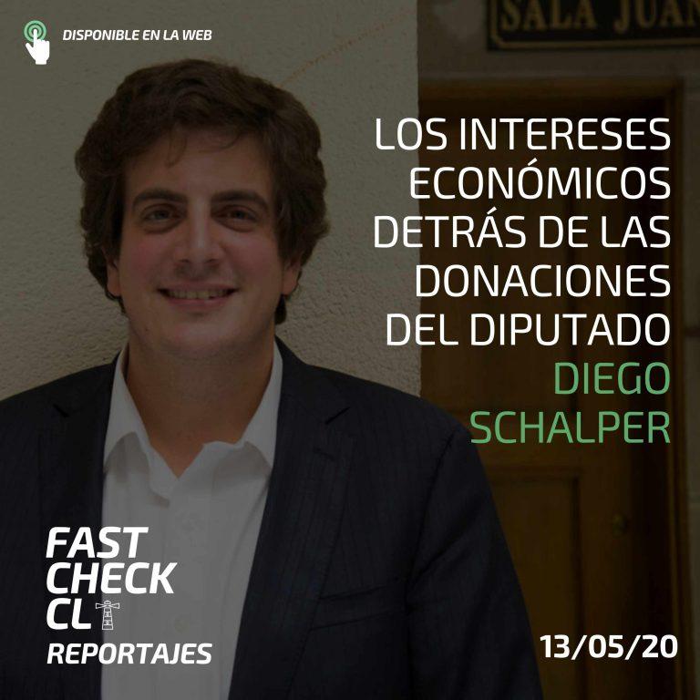 Los intereses económicos detrás de las donaciones del diputado Diego Schalper