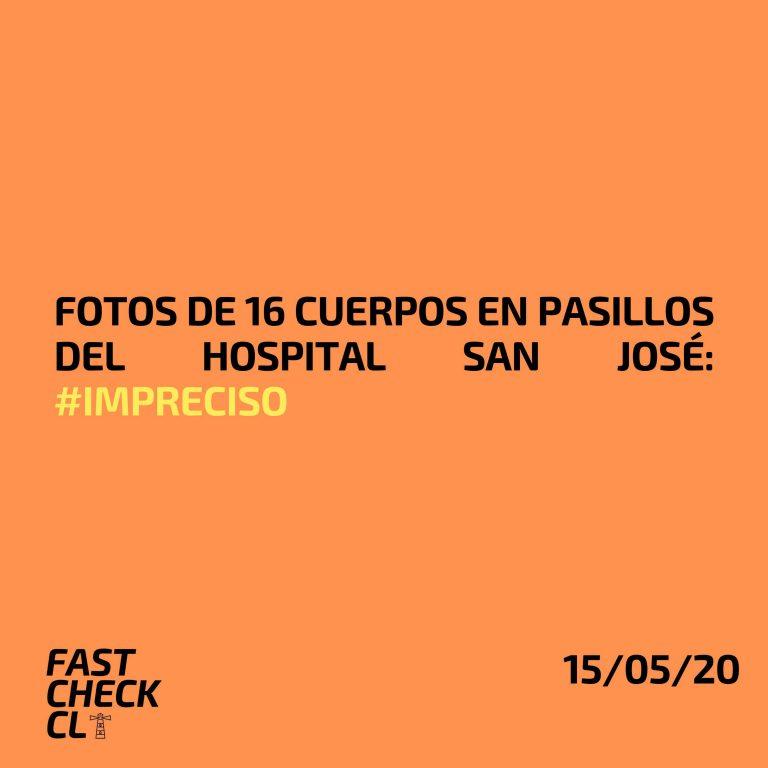 Fotos de16 cuerpos en pasillos del Hospital San José: #Impreciso