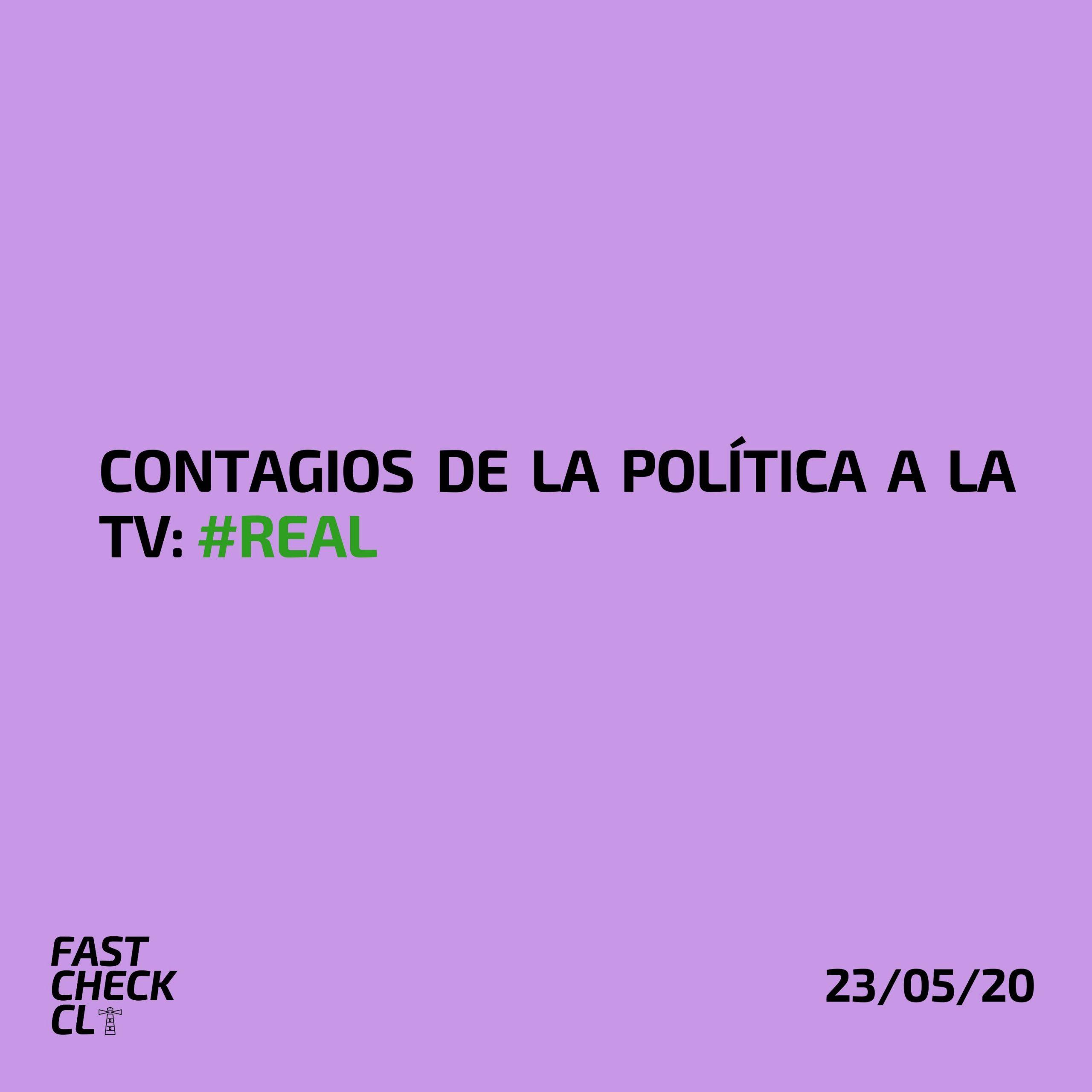 Contagios de la política a la TV: #Real