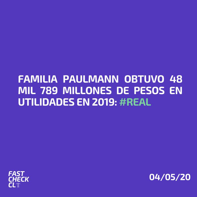 Familia Paulmann obtuvo 48 mil 789 millones de pesos en utilidades en 2019: #Real