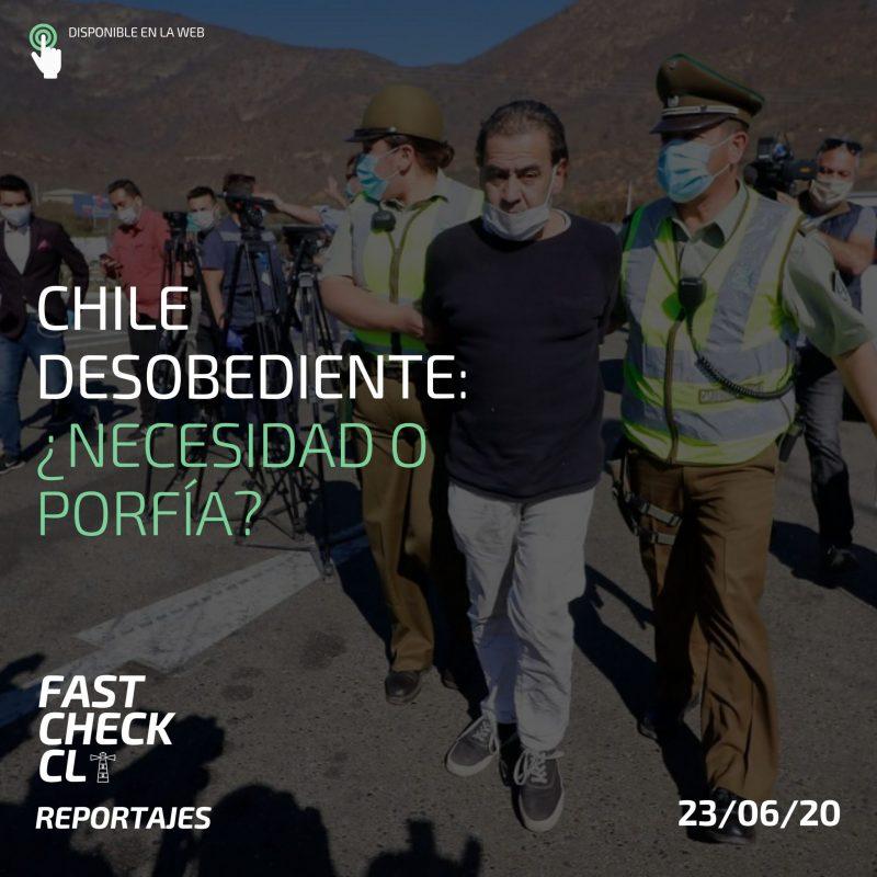Chile desobediente: ¿necesidad o porfía?