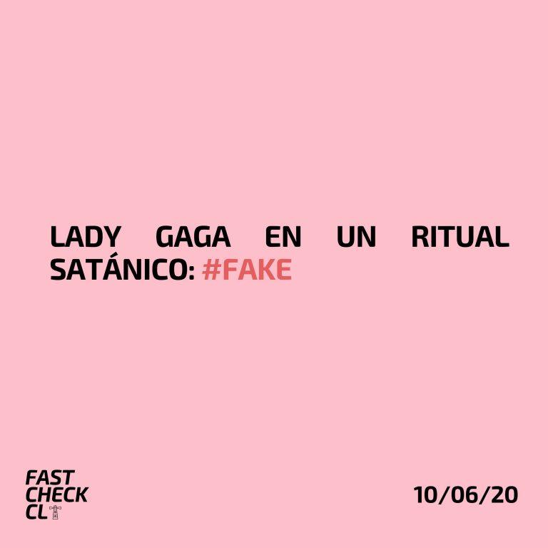 Lady Gaga en un ritual satánico: #Fake