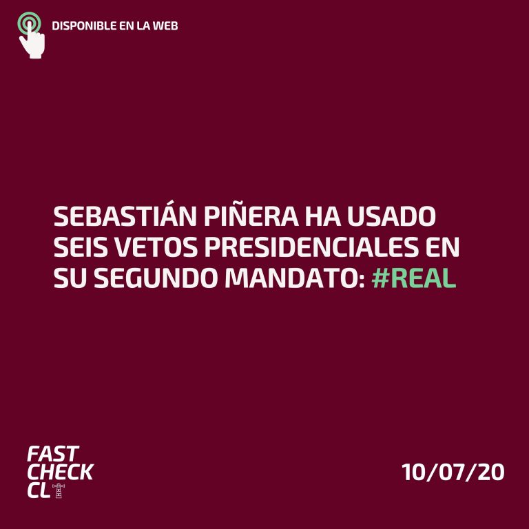 Read more about the article Sebastián Piñera ha usado seis vetos presidenciales en su segundo mandato #Real