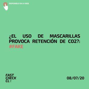 ¿El uso de mascarillas provoca retención de CO2?: #Fake
