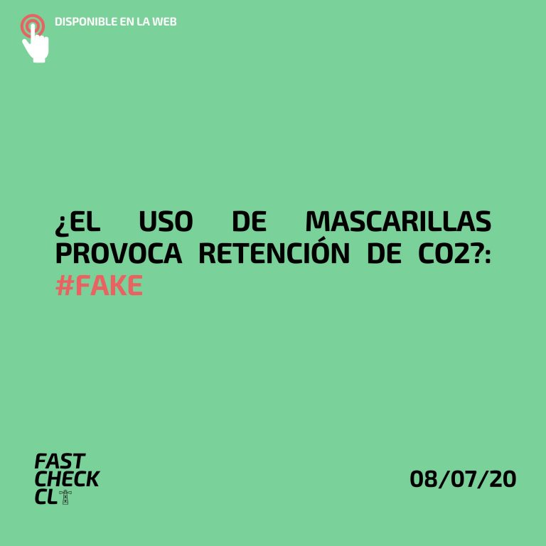 mascarilla retiene CO2 fake
