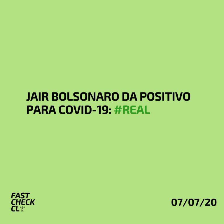 Jair Bolsonaro da positivo para Covid-19: #Real