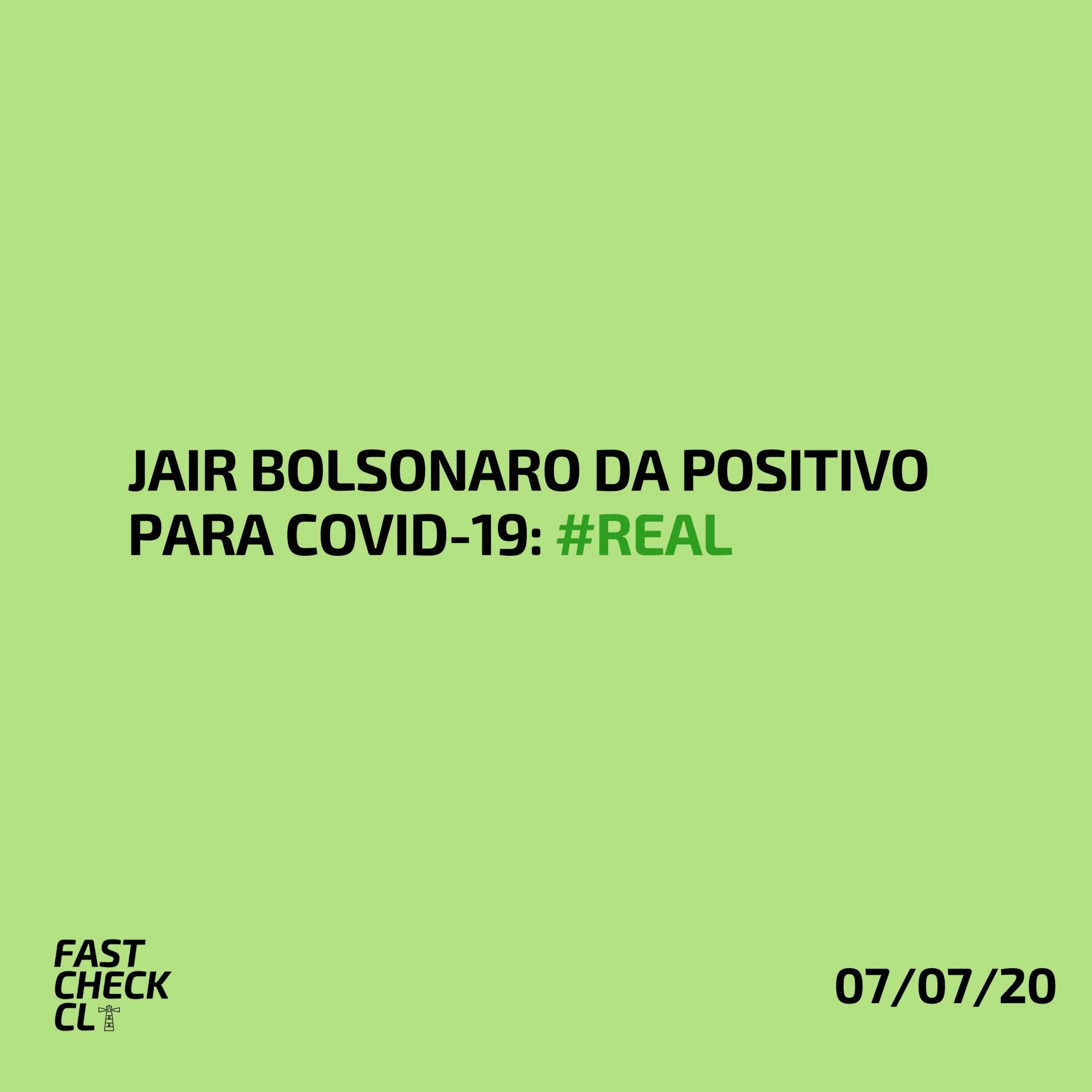 Read more about the article Jair Bolsonaro da positivo para Covid-19: #Real