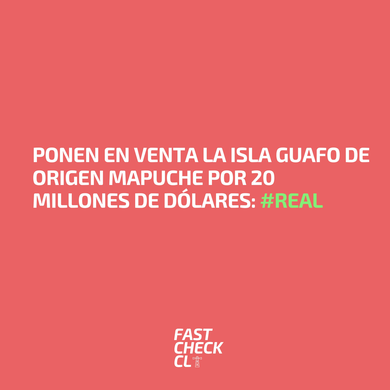 Ponen en venta la Isla Guafo de origen Mapuche por 20 millones de dólares: #Real