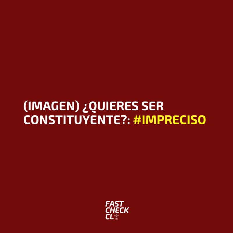 (Imagen)¿Quieres ser constituyente?: #Impreciso