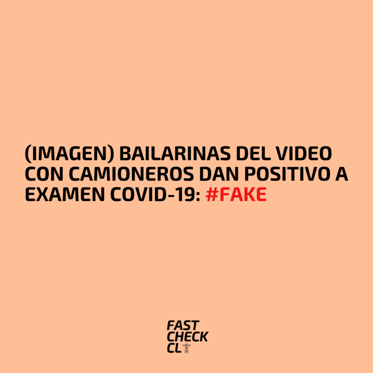 (Imagen) Bailarinas del video con camioneros dan positivo a examen covid-19: #Fake