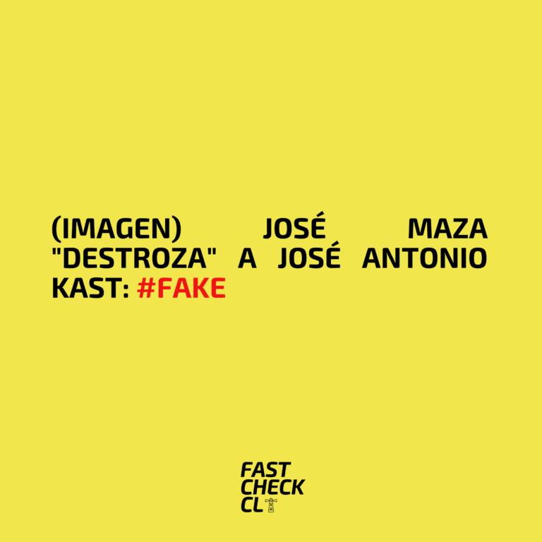 """(Imagen) José Maza """"destroza"""" a José Antonio Kast: #Fake"""