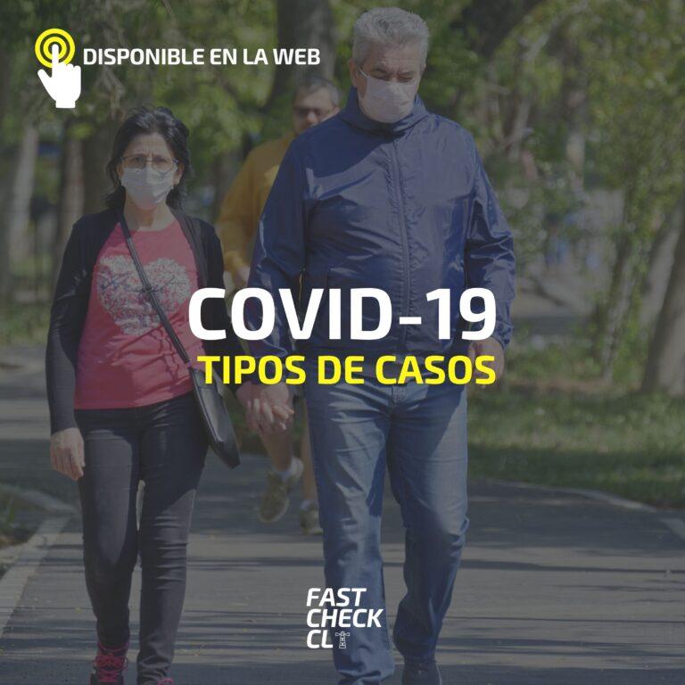 Tipos de casos Covid-19