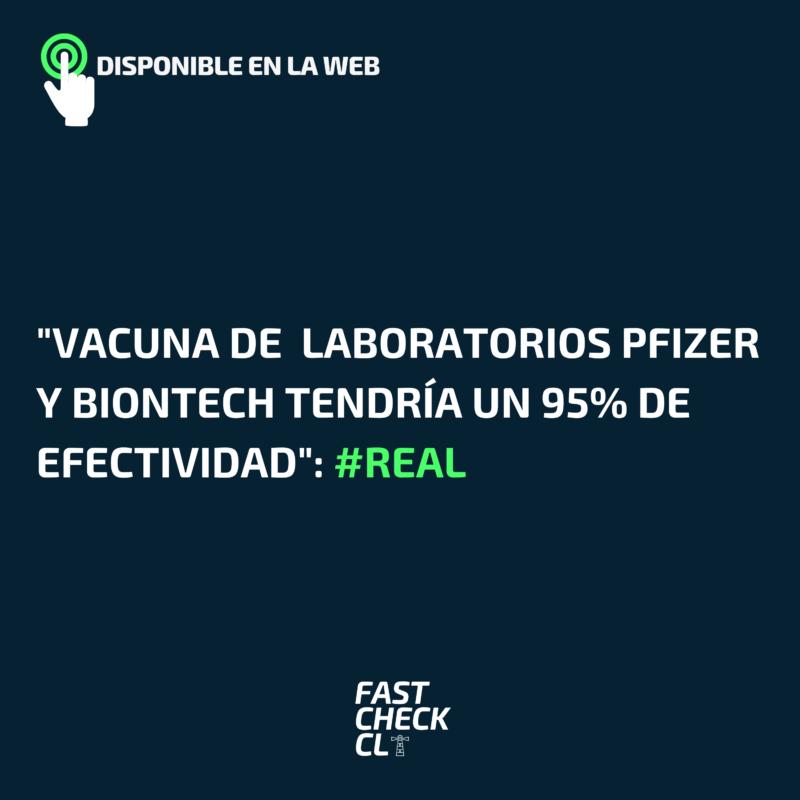"""""""Vacuna de Pfizer y BioNTech tendría un 95% de efectividad"""": #Real"""