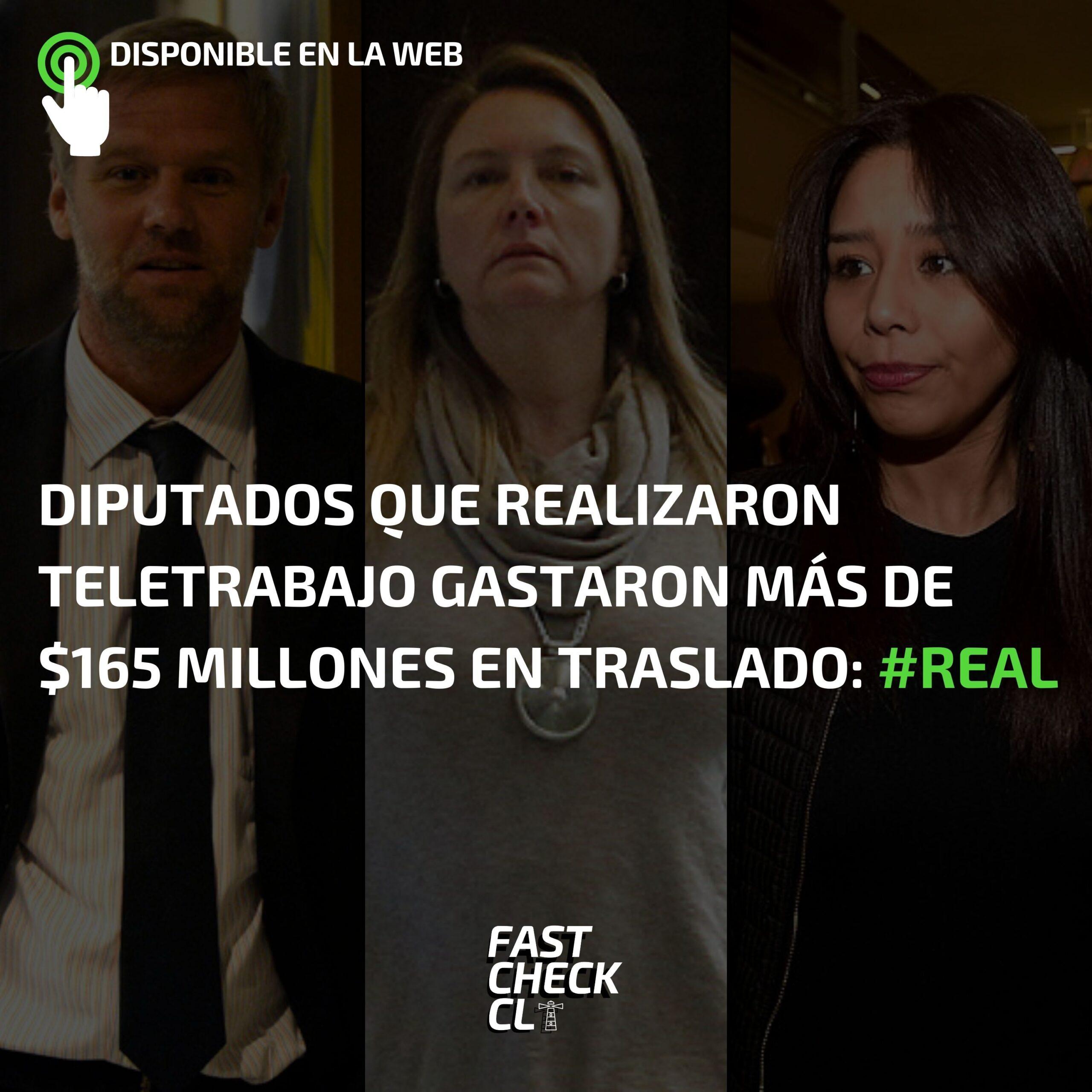 Diputados que realizaron teletrabajo gastaron más de $165 millones en traslado: #Real