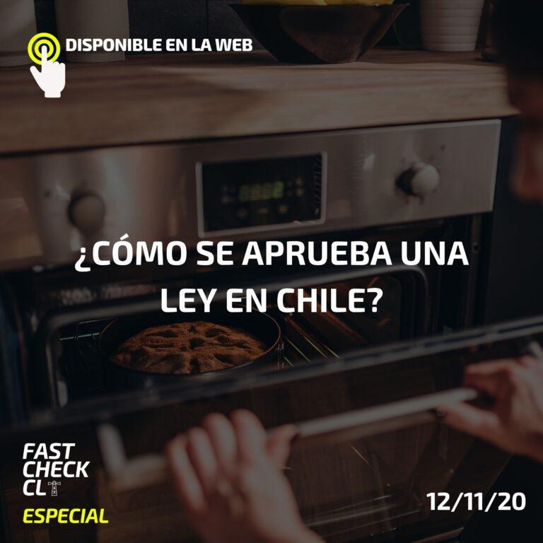 ¿Cómo se aprueba una ley en Chile?