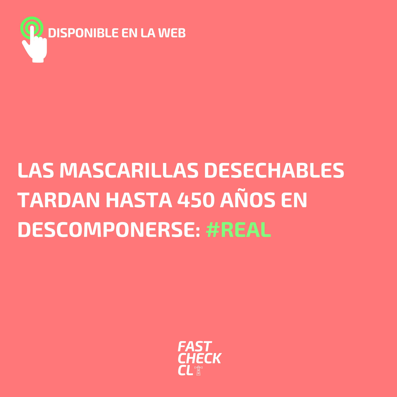 Read more about the article Las mascarillas desechables tardan hasta 450 años en descomponerse: #Real