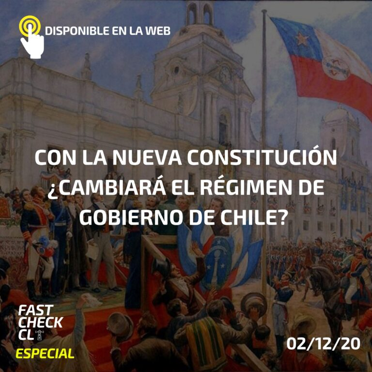 Con la nueva Constitución ¿cambiará el régimen de gobierno de Chile?