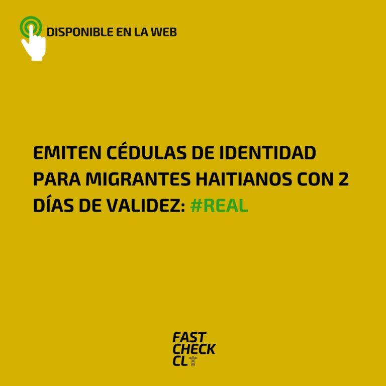 Emiten cédulas de identidad para migrantes haitianos con 2 días de validez: #Real