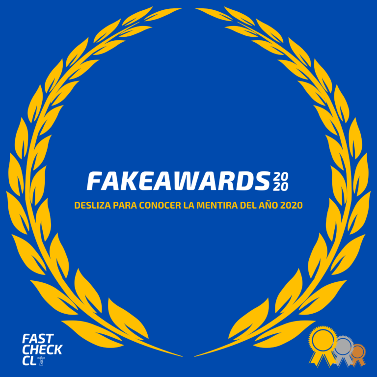 Fake Awards: La mentira más grande del 2020