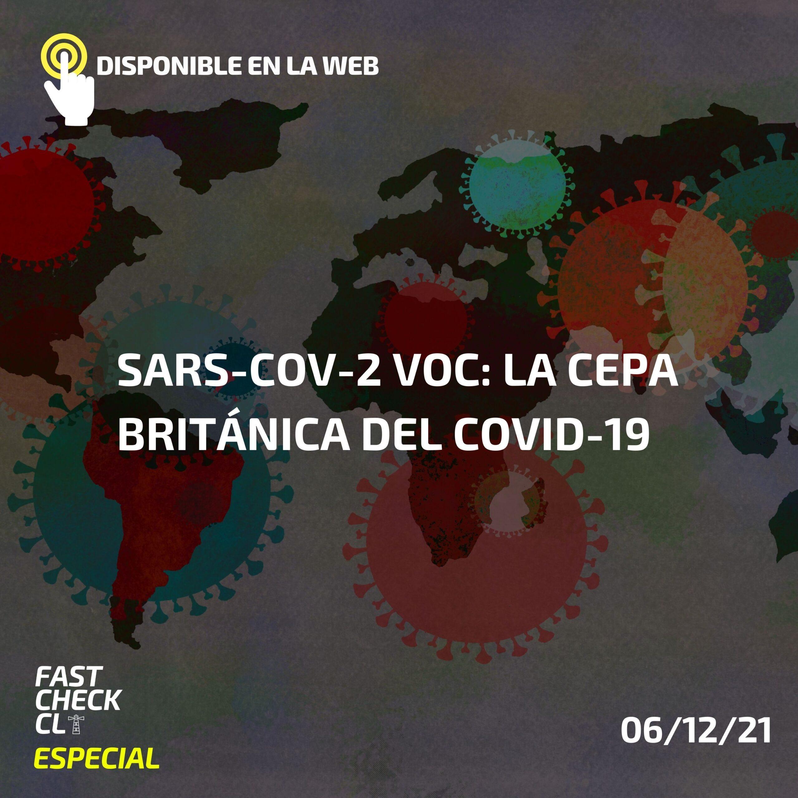 SARS-CoV-2 VOC: La cepa británica del COVID-19