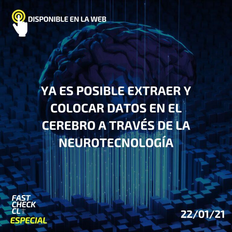 Ya es posible extraer y colocar datos en el cerebro a través de la neurotecnología