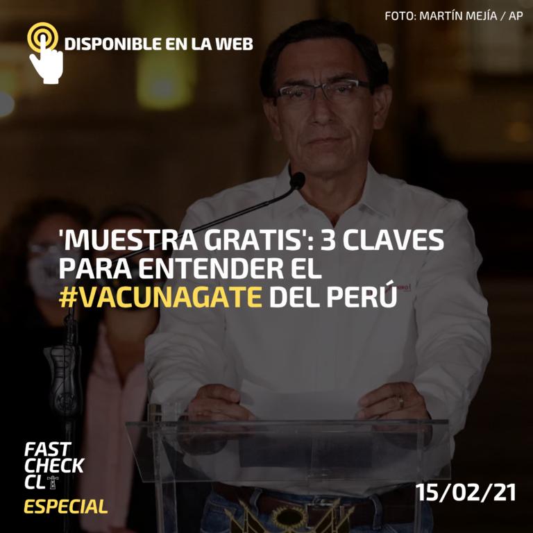 'Muestra gratis': 3 claves para entender el #Vacunagate del Perú