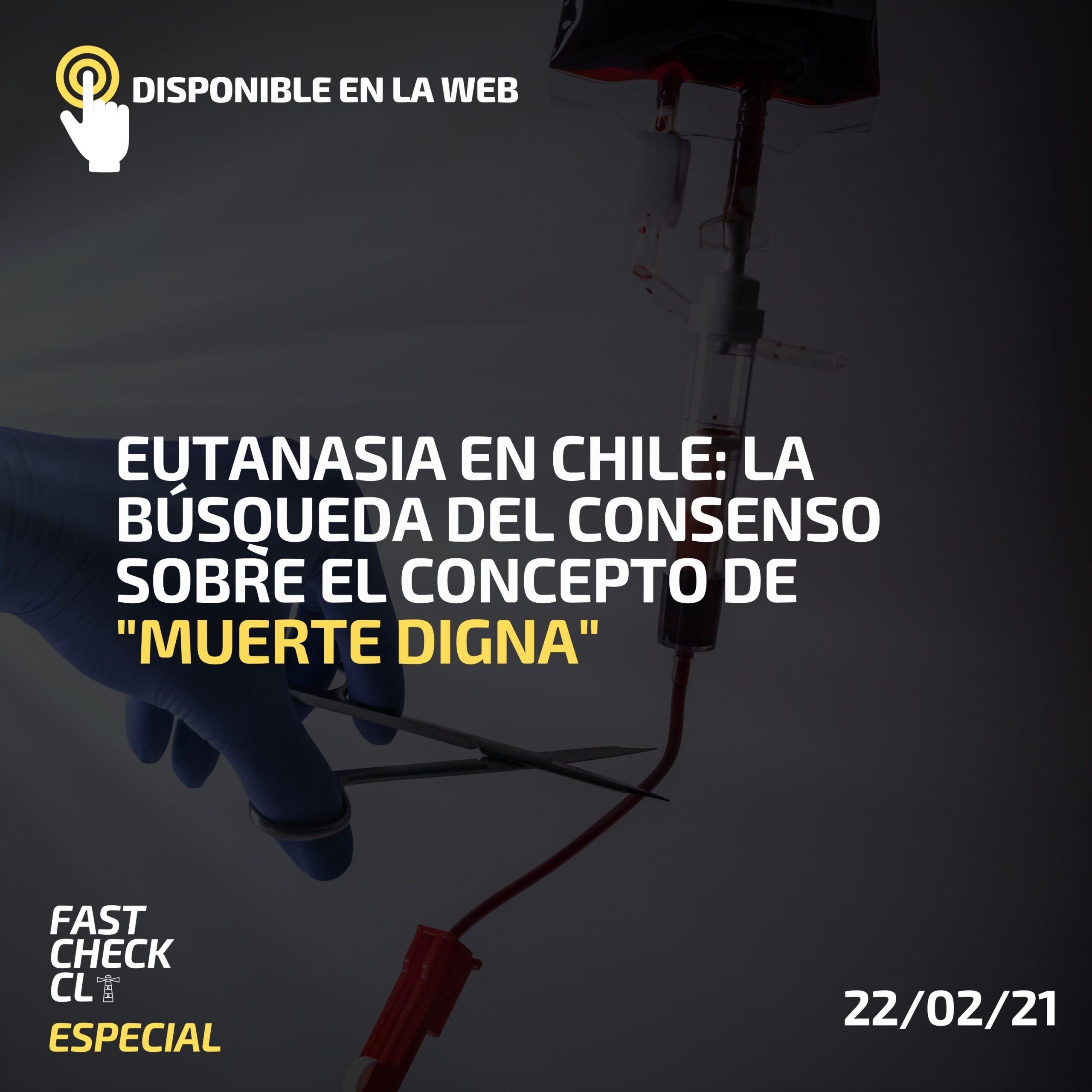"""Eutanasia en Chile: la búsqueda del consenso sobre el concepto de """"muerte digna"""""""