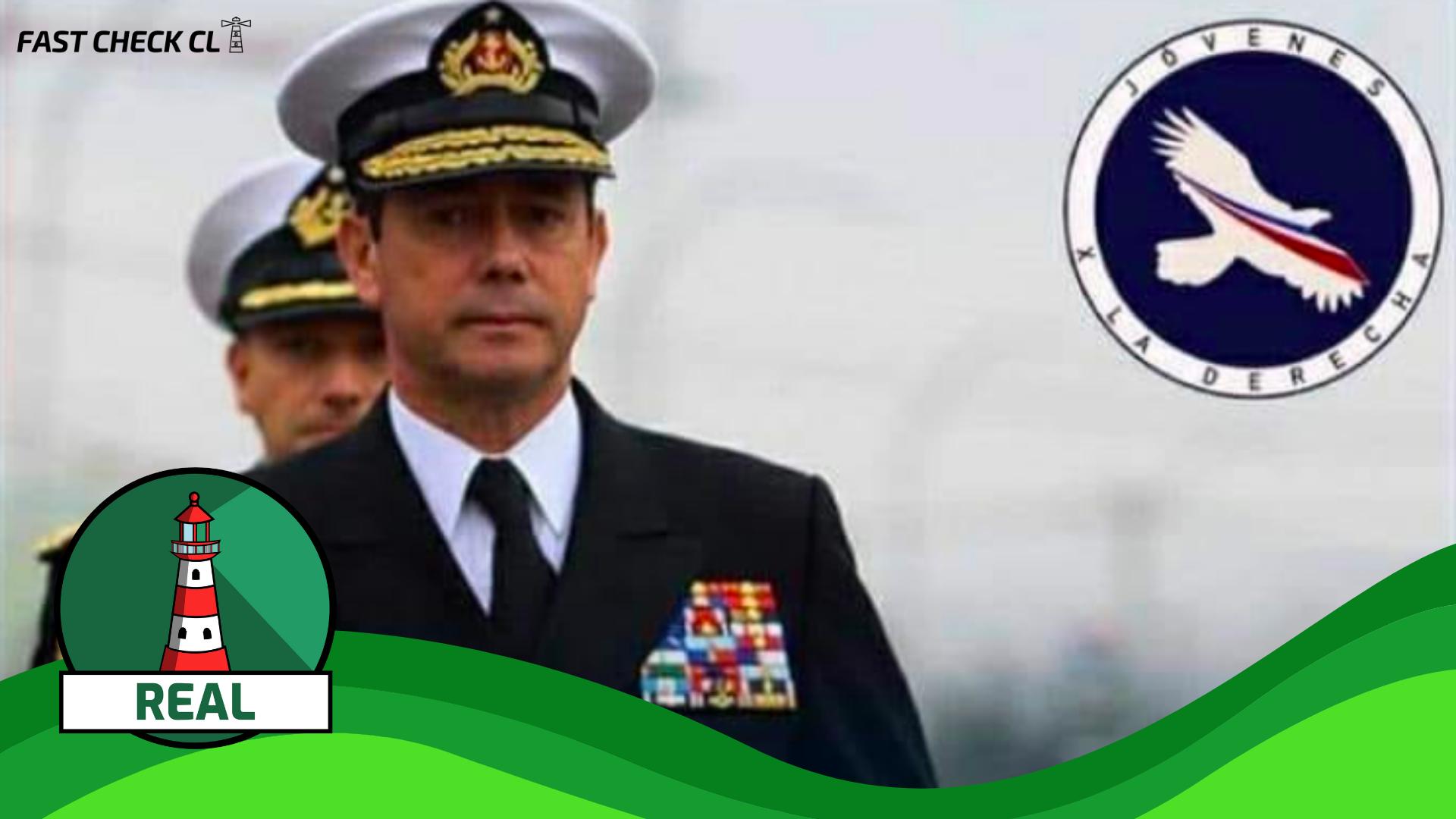 """(Imagen) Excomandante de la Armada, Edmundo González: """"Si nos dejan actuar, terminamos con el terrorismo en 72 horas"""": #Real"""