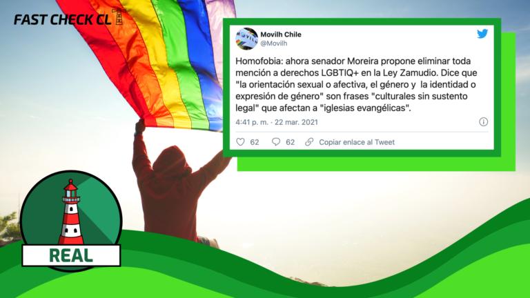 """Senador Iván Moreira propone eliminar toda mención sobre orientación sexual, género e identidad de género porque son frases """"culturales sin sustento legal"""" que """"afectan a iglesias evangélicas"""": #Real"""