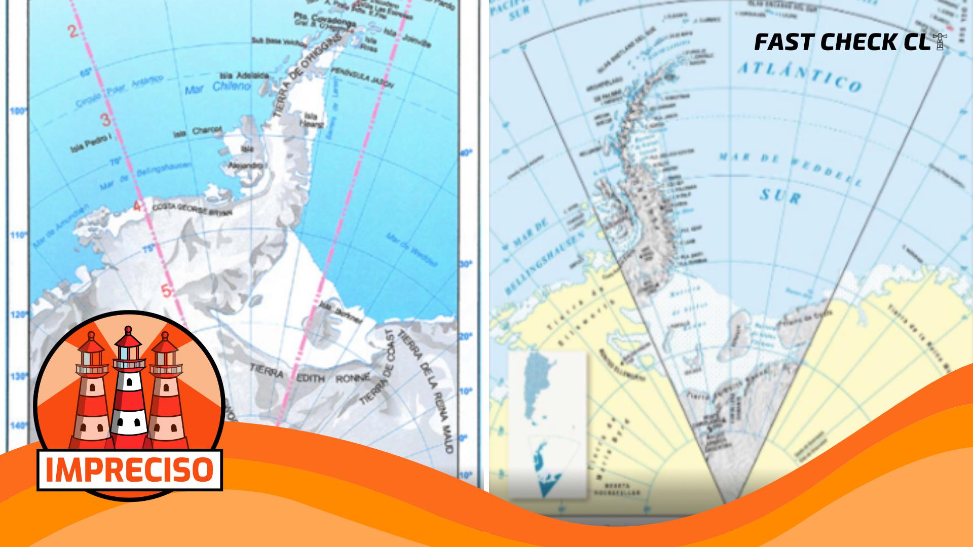 Nuevo mapa oficial argentino incluye territorio chileno: #Impreciso