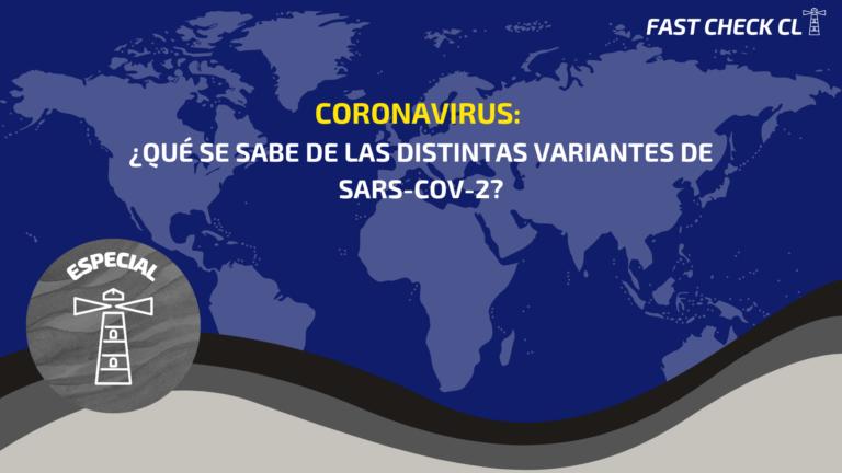 Coronavirus: ¿Qué se sabe de las distintas variantes de Sars-CoV-2?