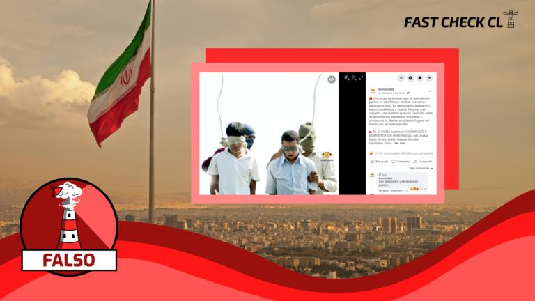 Pareja de jóvenes homosexuales es asesinada en público en Irán por su orientación sexual: #Falso