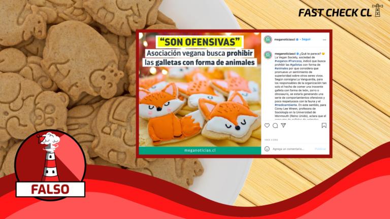 """Read more about the article """"Asociación vegana busca prohibir galletas con forma de animales"""": #Falso"""
