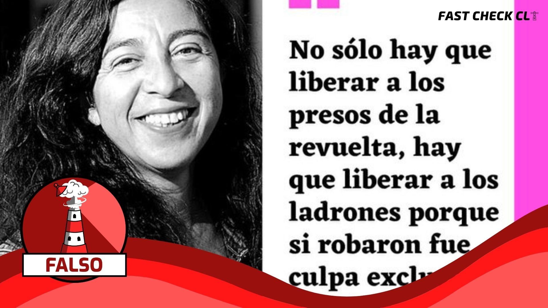 (Imágenes) Liberar a ladrones y expropiar bienes, frases de las convencionales electas de la Lista del Pueblo, Tania Madariaga y Lisette Vergara: #Falso