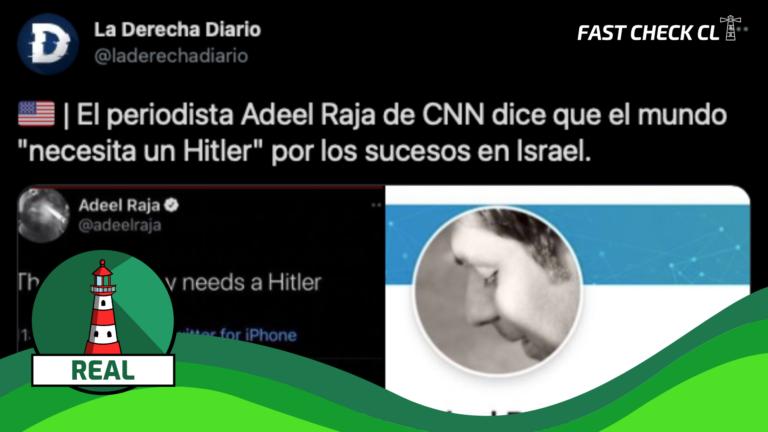 """""""Periodista Adeel Raja de CNN dice que el mundo """"necesita un Hitler"""" por los sucesos en Israel"""": #Real"""