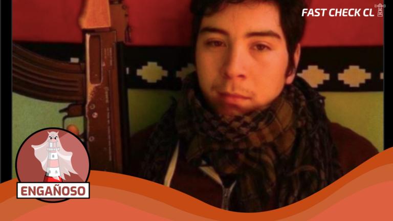 Read more about the article (Imagen) Concejal electo de Quellón posando con una AK-47: #Engañoso