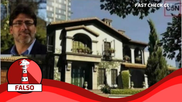 (Imagen)«Se descubrió una mansión en Los Ángeles, Estados Unidos, a nombre de Daniel Jadue, valuada en US$15.000.000»: #Falso