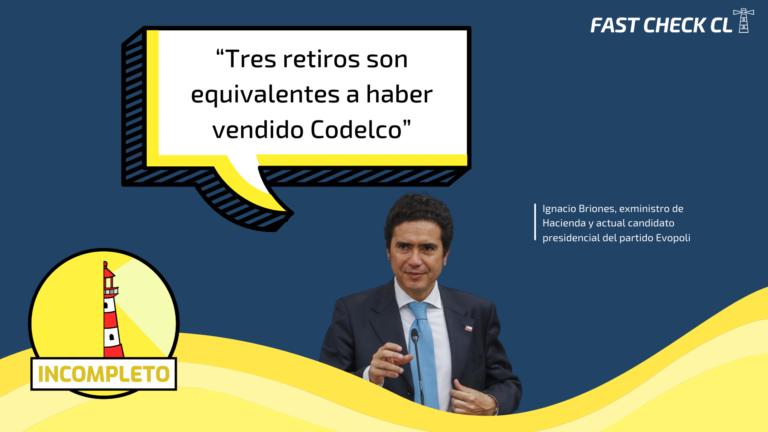 "Read more about the article ""Tres retiros son equivalentes a haber vendido Codelco"": #Incompleto"