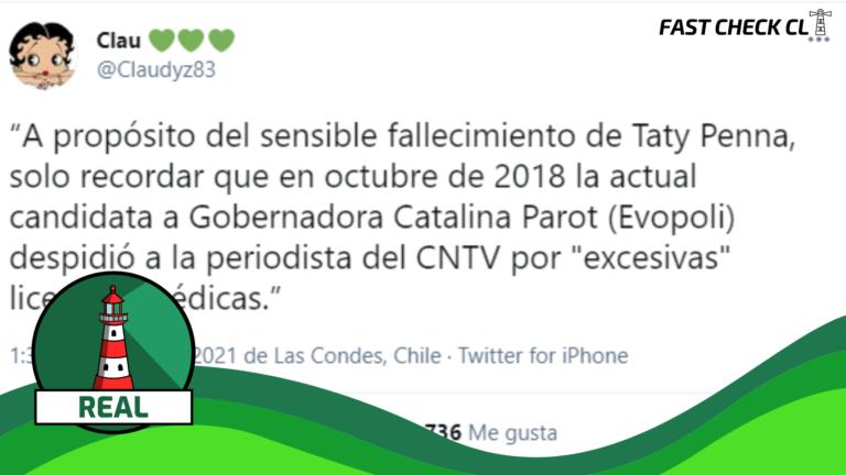 """Read more about the article Ex candidata a gobernadora, Catalina Parot, durante su presidencia en el CNTV en 2018, intentó desvincular a Constanza """"Tati"""" Penna: #Real"""