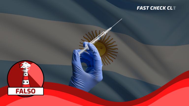 Read more about the article Gobierno de Argentina rechazó una donación de 15 mil vacunas de Chile para ciudad Río Turbio: #Falso