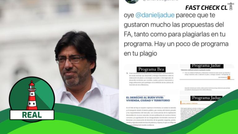 Programa de Daniel Jadue (PC) inscrito en el Servel plagió partes del programa de Gobierno de Beatriz Sánchez en 2017: #Real