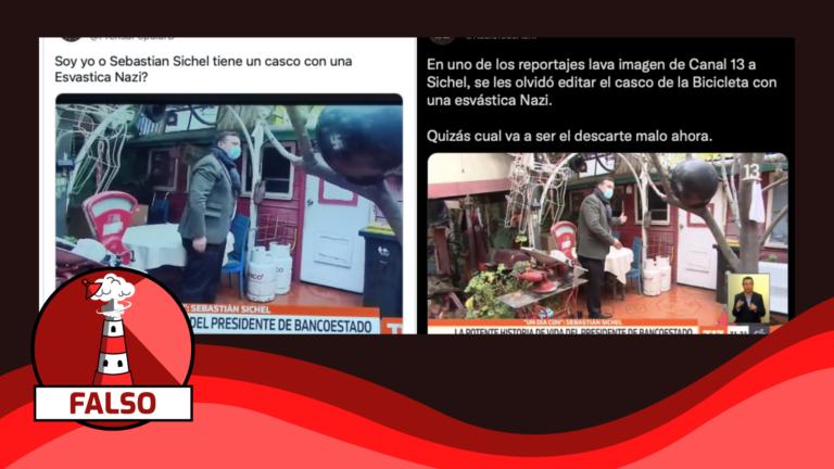 """Read more about the article """"Sebastián Sichel tiene un casco con una esvástica nazi"""": #Falso"""