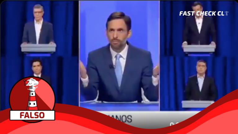 Read more about the article Video que muestra silencio total de los candidatos Lavín, Desbordes, Briones y Sichel cuando les preguntan por materia de derechos humanos: #Falso