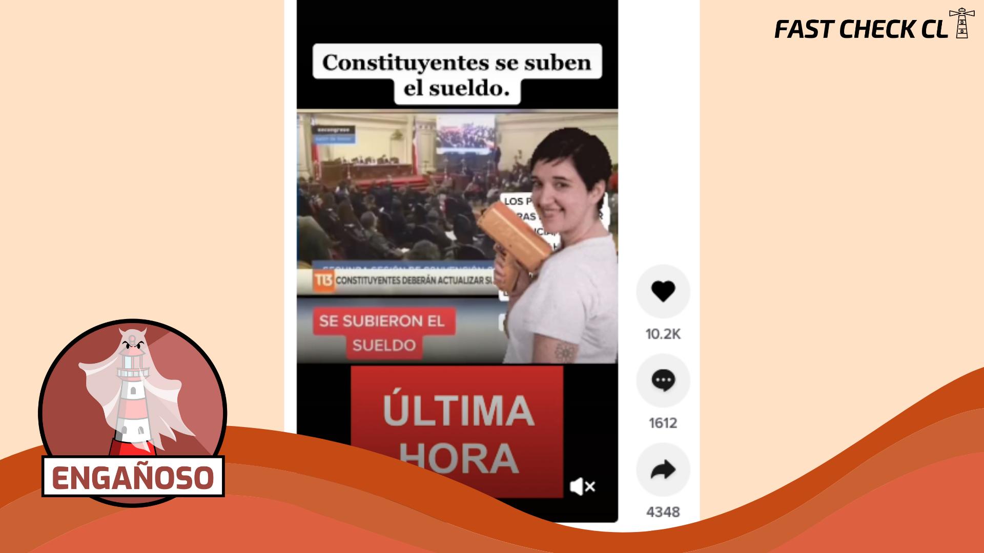 """Read more about the article (Video) """"Última hora: Constituyentes se suben el sueldo"""": #Engañoso"""