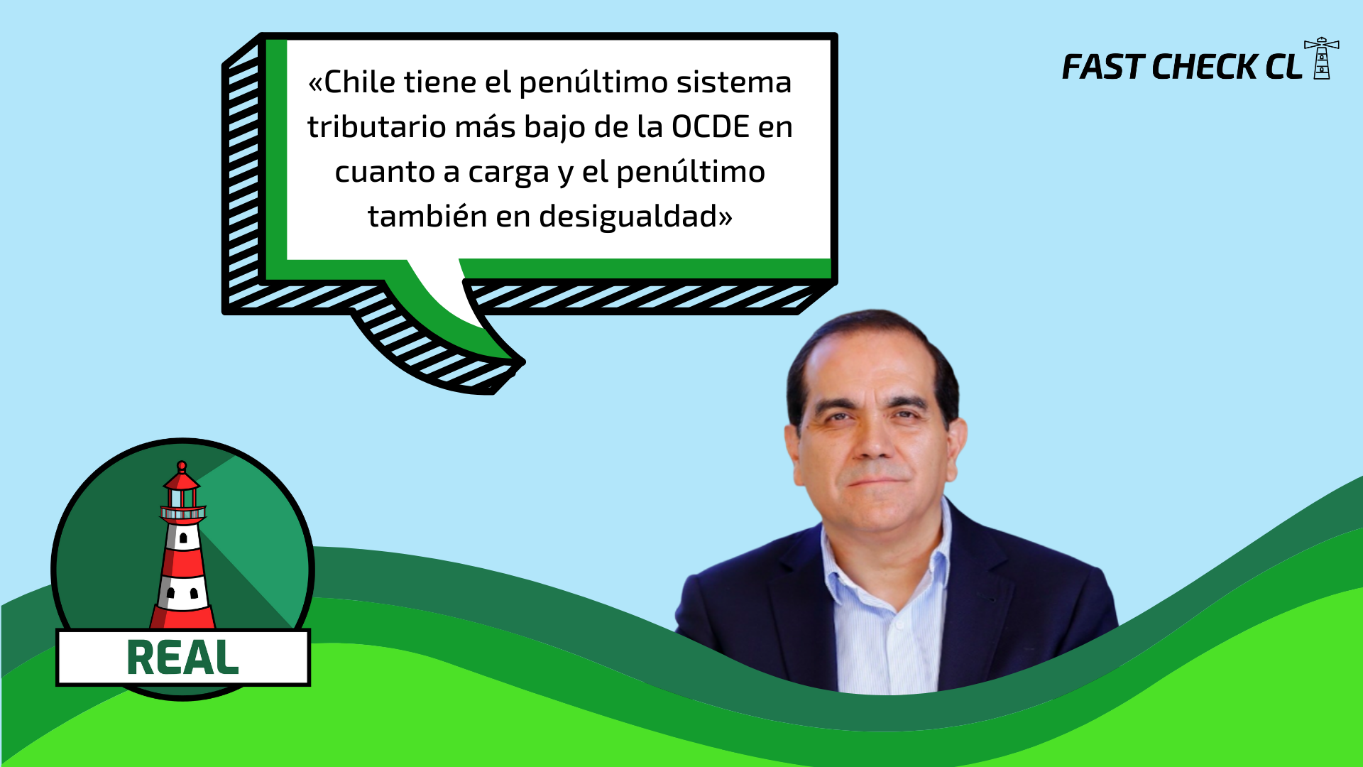 Read more about the article «Chile tiene el penúltimo sistema tributario más bajo de la OCDE en cuanto a carga y el penúltimo también en desigualdad»: #Real
