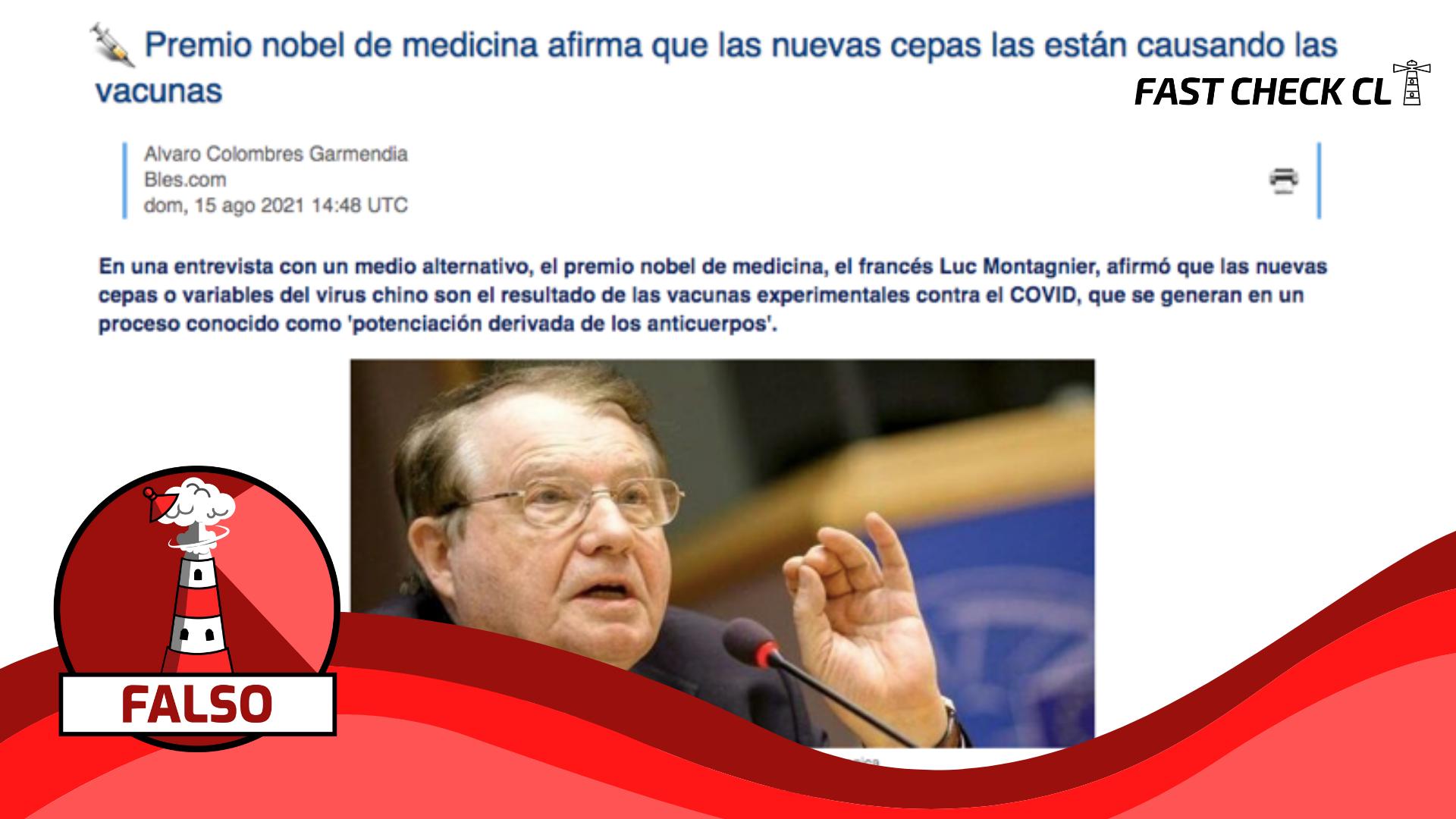 """Read more about the article """"Es la vacunación la que está creando las variantes"""": #Falso"""