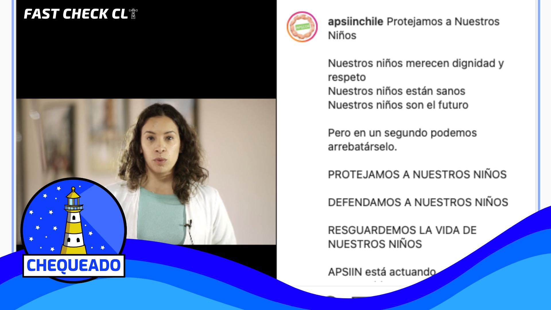 """Read more about the article (Video) """"Protejamos a nuestros niños"""": #Chequeado"""