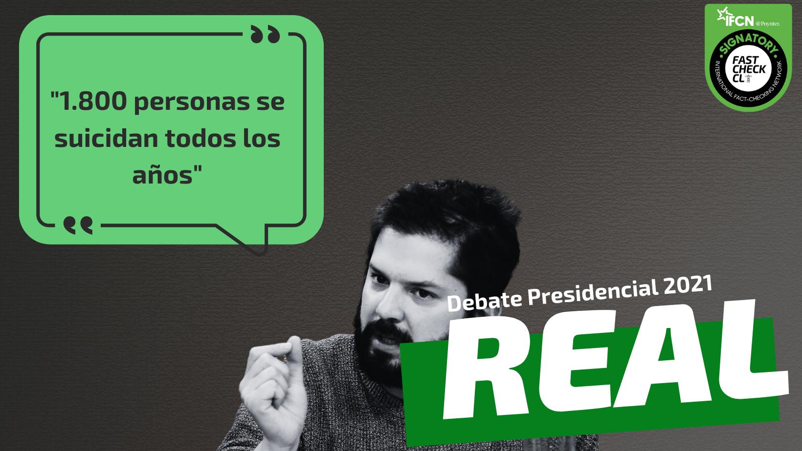 """Read more about the article """"1.800 personas se suicidan todos los años"""": #Real"""